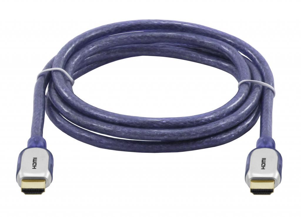 Cabo HDMI 1.4 - 2 metros - 3D High Speed Full HD -